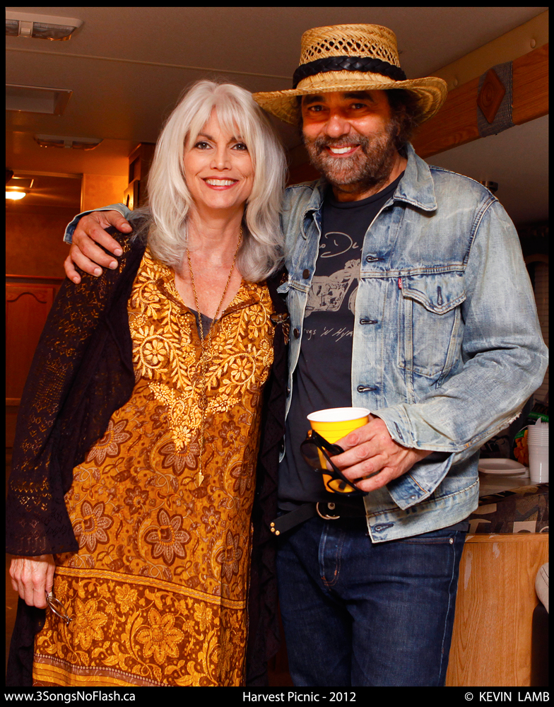 Daniel Lanois (with Emmylou Harris)